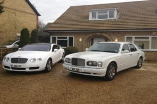 bentley limos, wedding cars corby and kettering