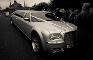 wedding limo hire corby