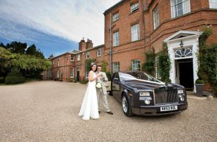 rolls royce phantom wedding car hire corby